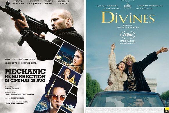 Jason Statham en tête du box-office français avec Mechanic Resurrection (200.000 entrées)
