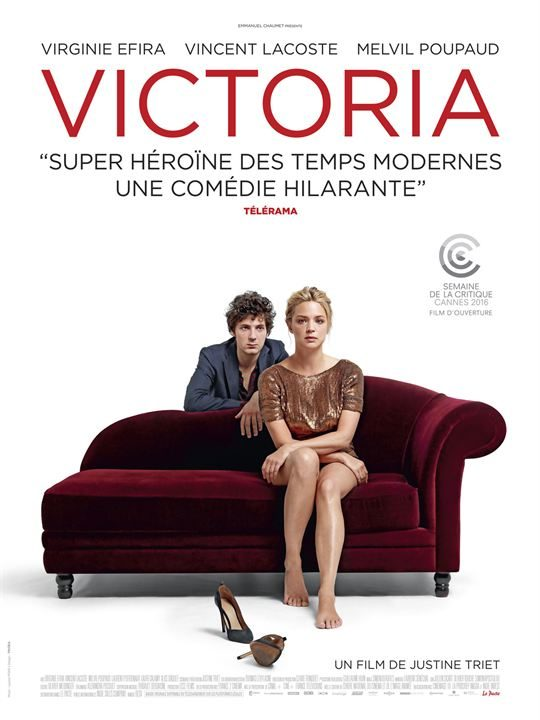 Virginie Efira triomphe au box-office français avec Victoria (260.000 entrées)