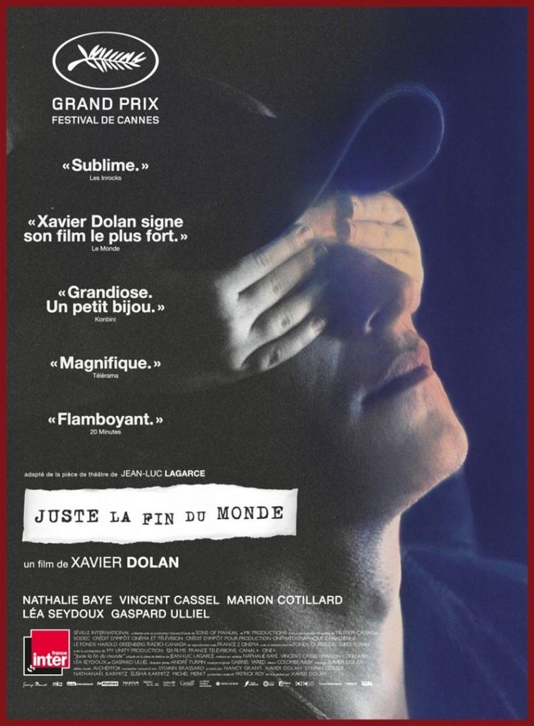 [Critique] du film « Juste la fin du monde » Xavier Dolan nous laisse insensible