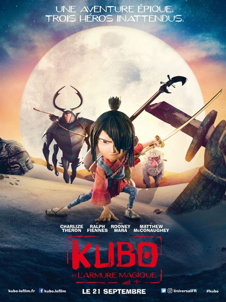 [Critique] du film « Kubo et l'armure magique » nouvel enchantement visuel made in Laika