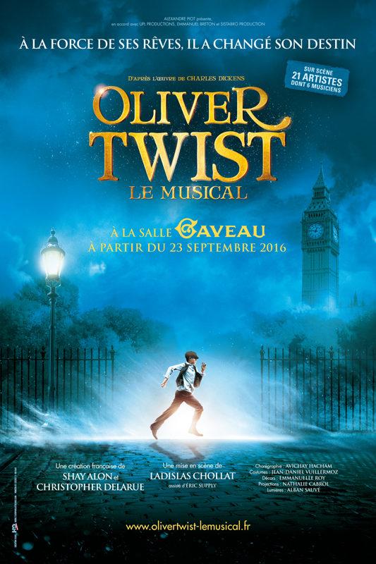 [Critique] Oliver Twist, une nouvelle comédie musicale à la Salle Gaveau