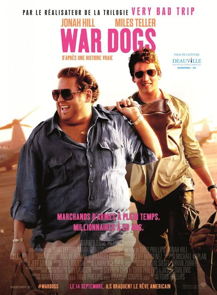 [Critique] du film « War Dogs » Miles Teller et Jonah Hill rois du business militaire