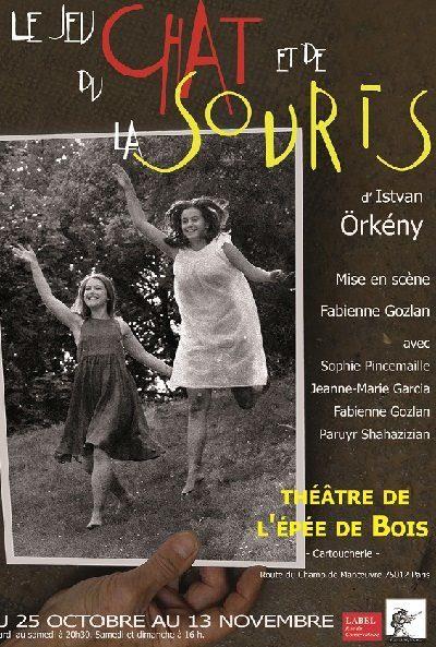 «Le jeu du Chat et de la Souris» du Hongrois Istvan Orkeny au Théâtre de l'Épée de Bois