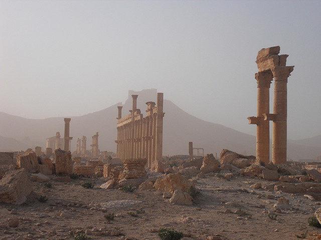 Les «sauveurs de l'héritage culturel syrien» livreraient-ils Palmyre aux pilleurs ?