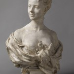 Jean-Baptiste Carpeaux (Valenciennes, 1827 - Courbevoie, 1875) Eugénie Fiocre, 1869 Buste en plâtre, 83 x 51 x 37 cm Paris, musée d'Orsay, RF 930 © Musée d'Orsay, Dist. RMN-Grand Palais / Patrice Schmidt