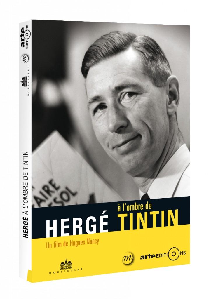 DVD «Hergé à l'ombre de Tintin»