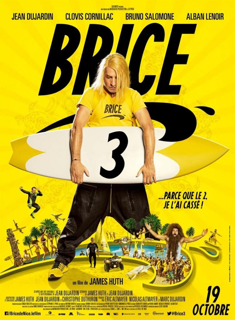 [Critique] du film « Brice 3 » Brice de Nice et Jean Dujardin en mode Tour 2 Contrôle Infernale