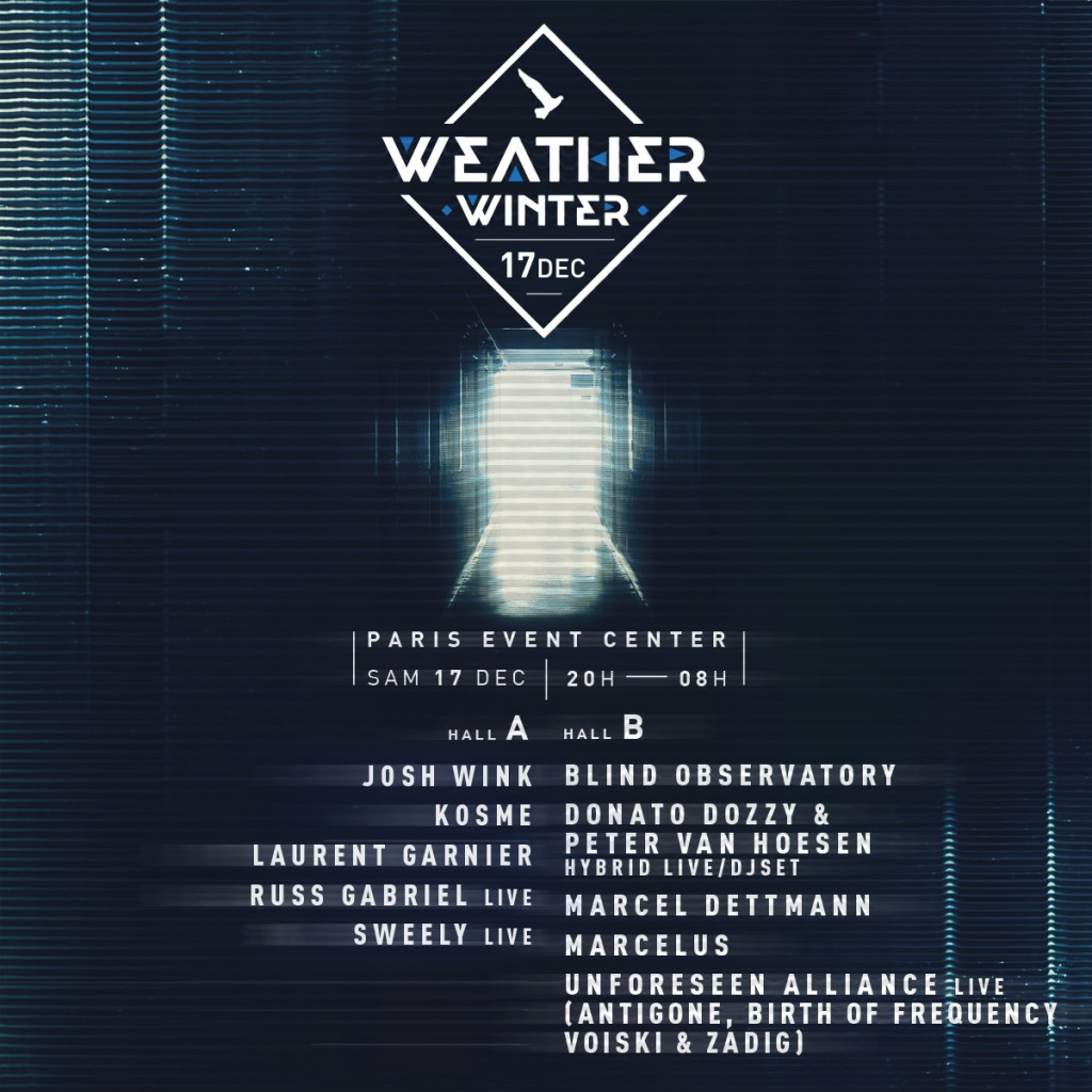 Le Weather Winter annonce son line up