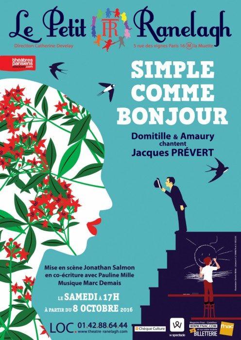 « Simple comme bonjour » : un spectacle pour enfants qui célèbre Jacques Prévert avec poésie