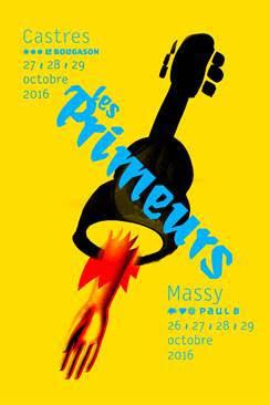 Gagnez 1×2 places pour festival des Primeurs de Massy et Castres le samedi 29 octobre avec Nicolas Michaux + Tamer Abu Ghazaleh + Grand Blanc + Le Vasco + Las Aves