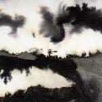 Melissa Pelazza, Étude pour « La Pente de la rêverie » Encre de Chine sur papier, collection Melissa Pelazza