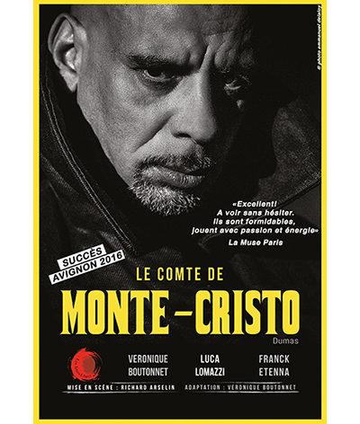 «Le comte de Monte-Cristo» assouvit sa soif de vengeance jusqu'au 29 janvier 2017 au théâtre de l'Essaïon !