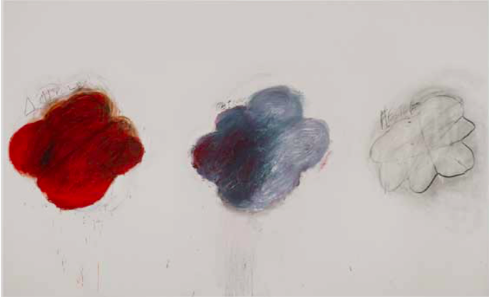 A Pompidou Cy Twombly interroge l'acte pictural