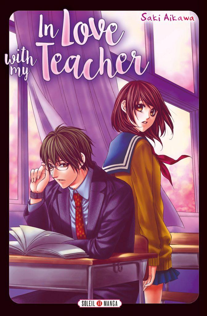 «In love with my teacher», un recueil d'histoires d'amour très girly signé Saki A