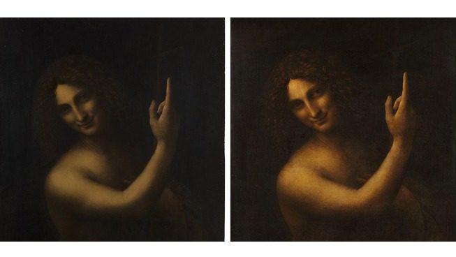 Une renaissance pour le «Saint Jean-Baptiste» de Léonard de Vinci conservé au musée du Louvre !