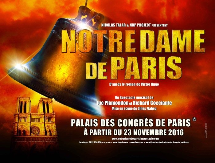 18 ans après, un retour gagnant pour la comédie musicale «Notre-Dame de Paris» au Palais des Congrès !