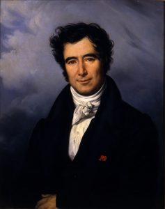 Portrait de François Arago par Sylvain Pelly-Bibliothèque de l'Observatoire de Paris