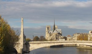 Sainte-Geneviève protégeant Paris
