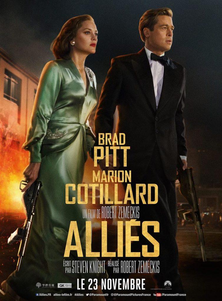 [Critique] du film « Alliés » Brad Pitt et Marion Cotillard s'aiment et s'espionnent chez Zemeckis