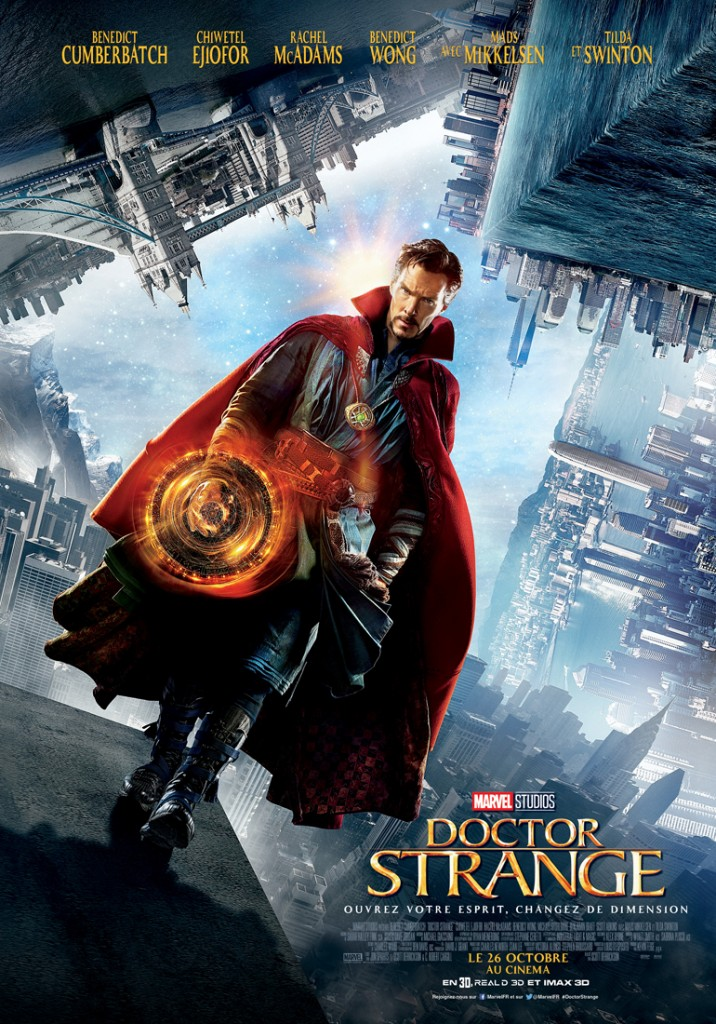 Box-office France semaine : 1 million d'entrées pour le Doctor Strange de Marvel