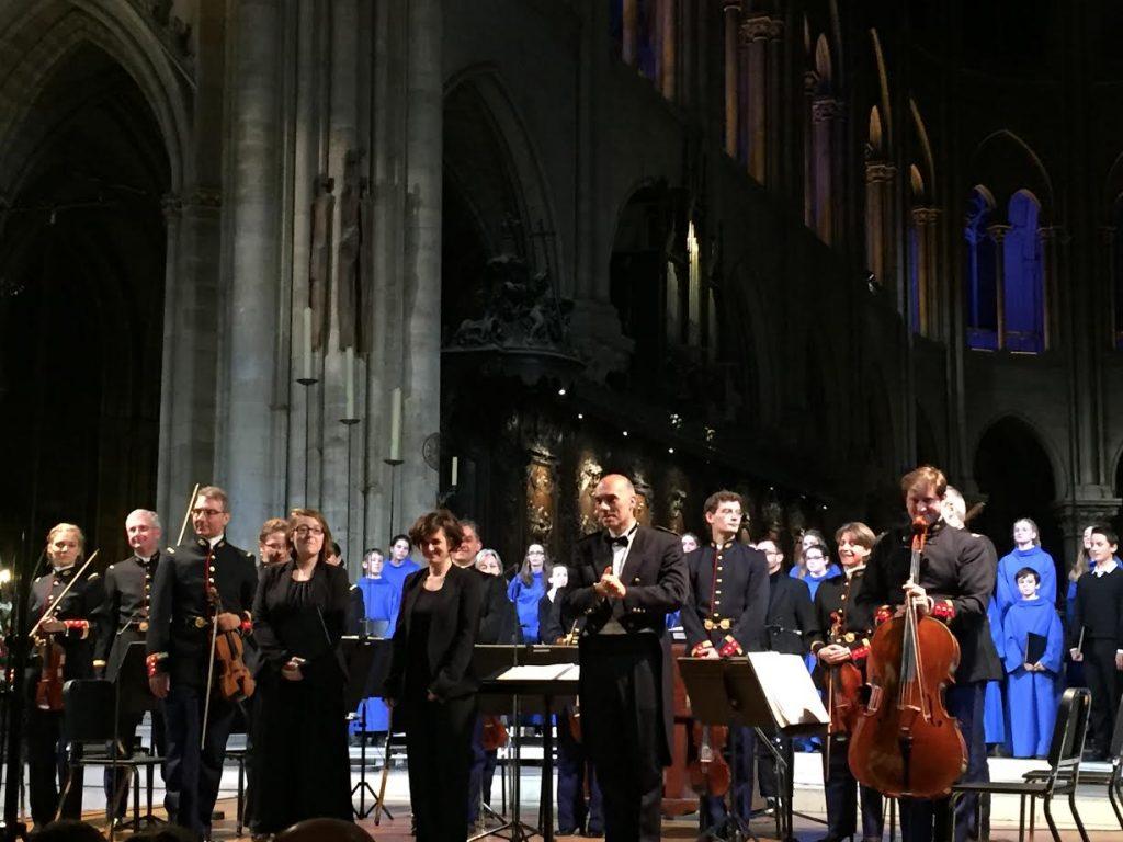 La Maîtrise de Notre-Dame et l'Orchestre de la Garde républicaine, un concert cathédral et gracieux