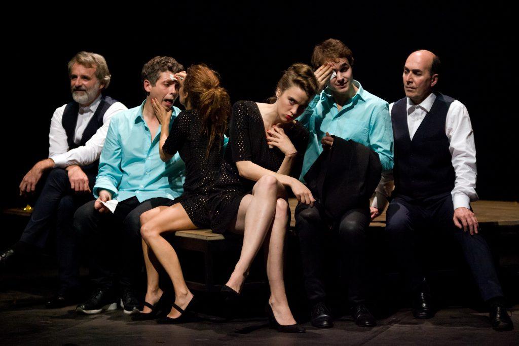 «L'ABATTAGE RITUEL DE GORGE MASTROMAS» dans le cadre des Théâtrales Charles Dullin.