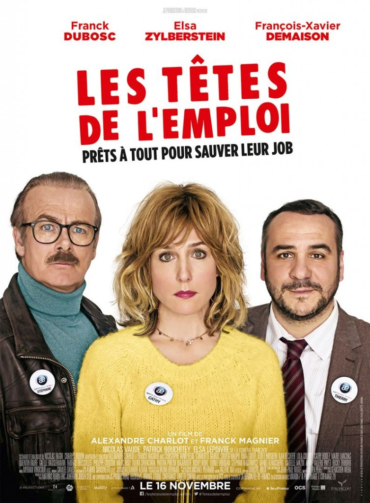 [Critique] du film « Les têtes de l'emploi » comédie brouillonne et contradictoire