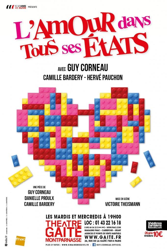 «L'amour dans tous ses États» à la Gaité Montparnasse.