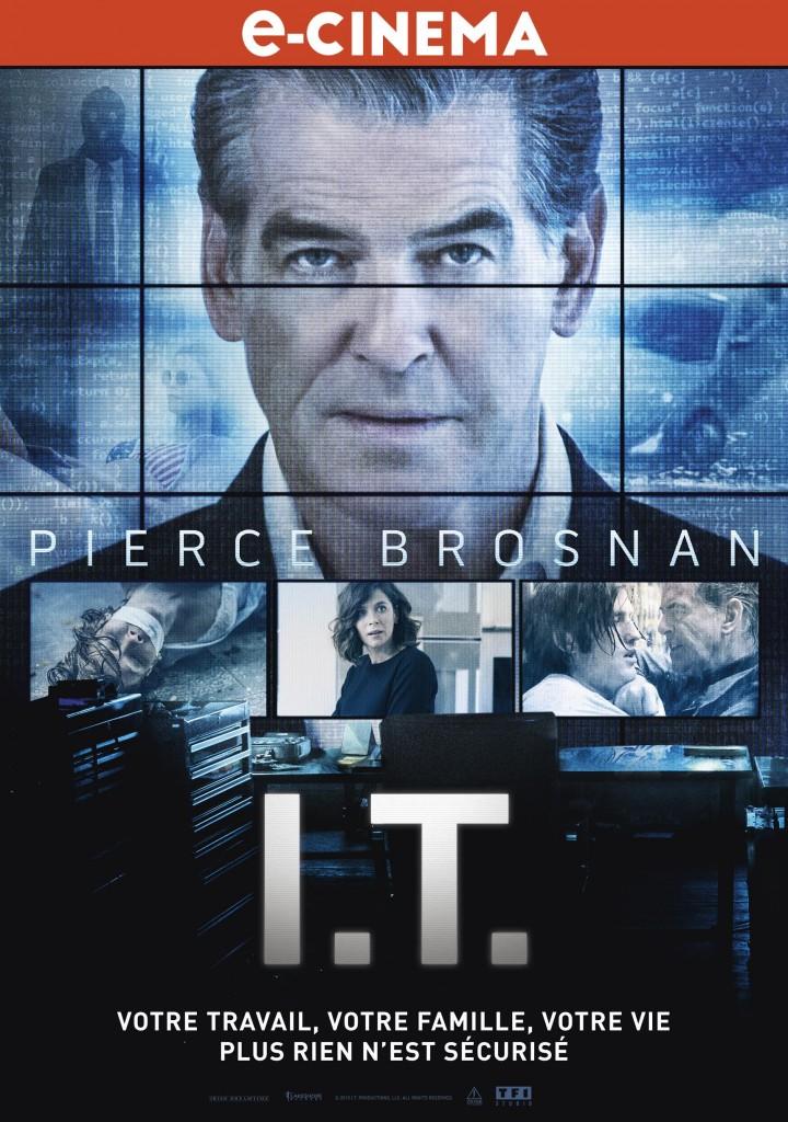 Gagnez 5 liens VOD pour le film I.T avec Pierce Brosnan