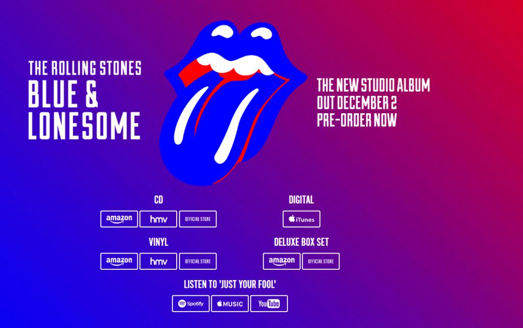 Le prochain album des Rolling Stones « Blue & Lonesome » confirme leur retour dans une veine résolument blues