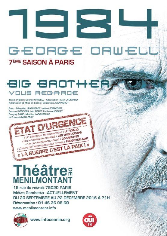 1984 – Big Brother vous regarde au Théâtre de Menilmontant.