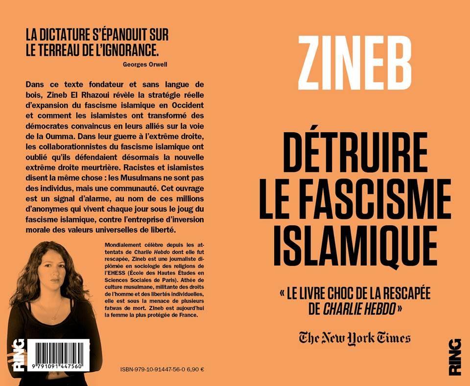 «Détruire le fascisme islamique», le livre orange vitaminé de Zineb