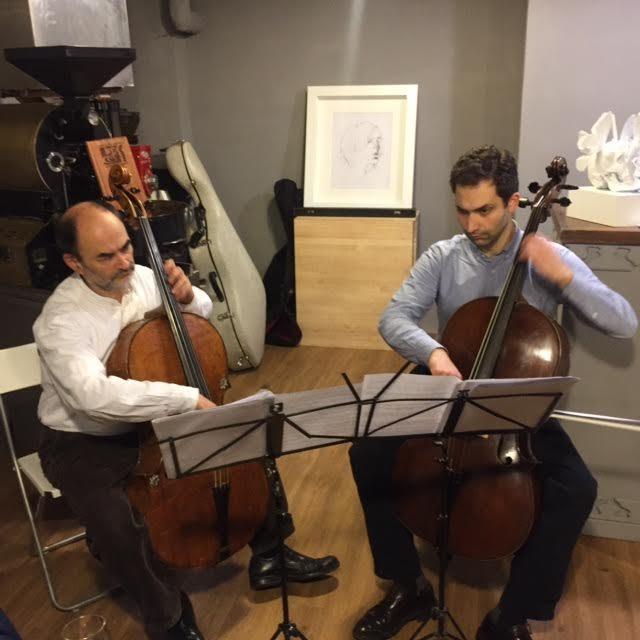 [Live-Report] L'Éternelle Création : violoncelle, Bordeaux et vanités au Coffee-shop (08/12/2016)