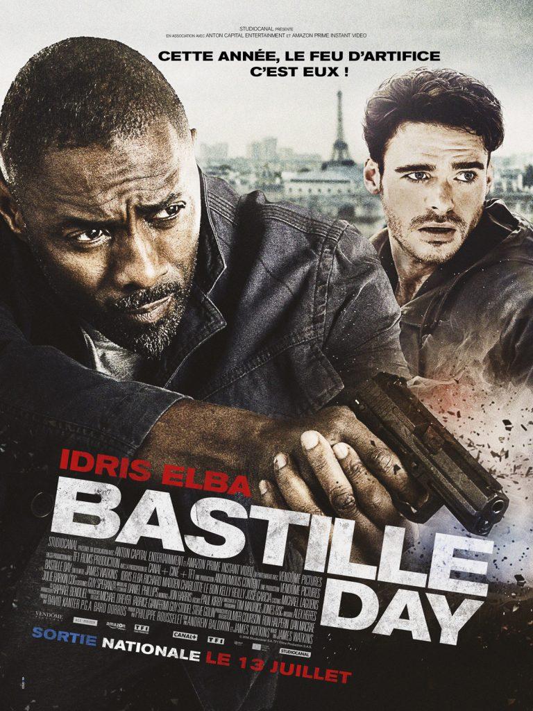 Gagnez 3×1 DVD ou 3×1 Blu-Ray du film Bastille Day