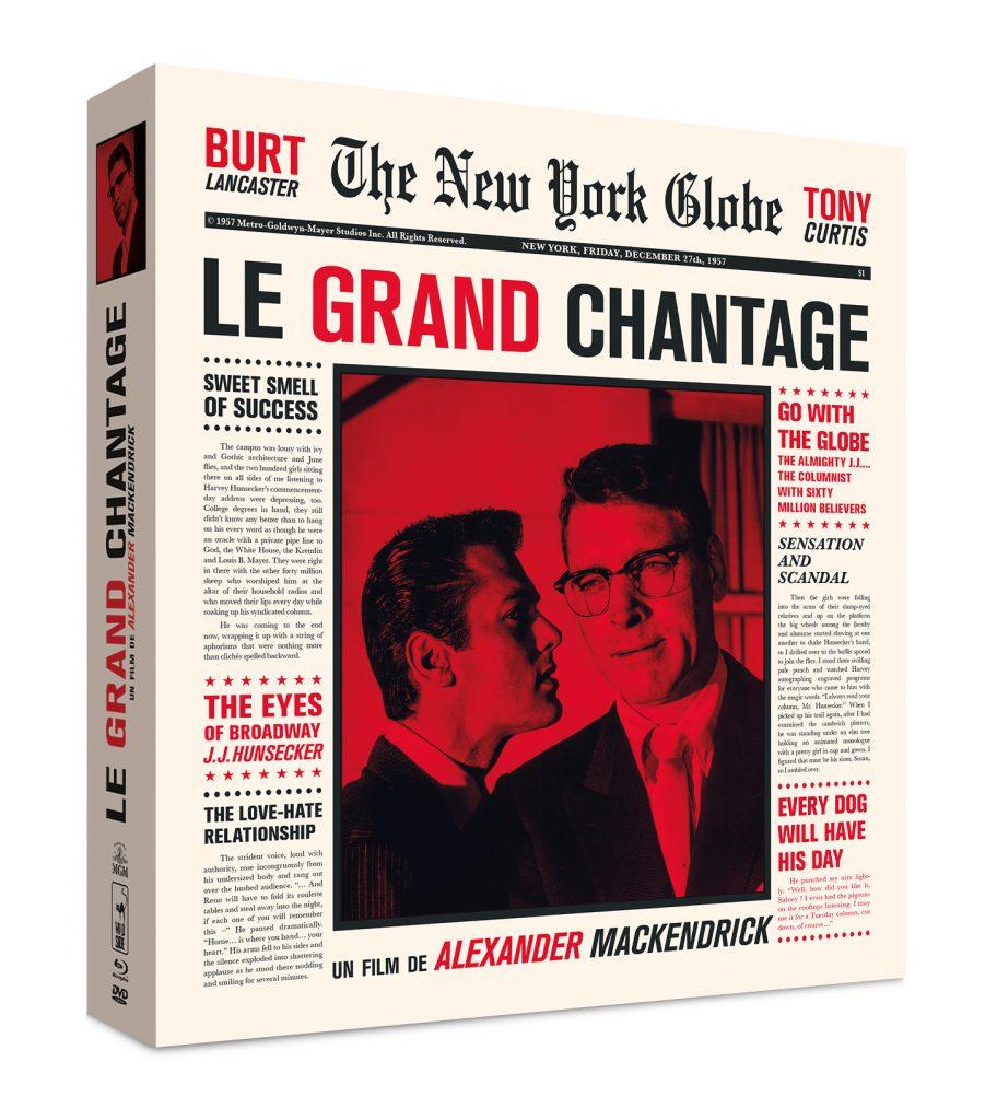 [Coffret Dvd] : «Le Grand Chantage», de Alexander Mackendrick, un grand classique du film noir avec avec Tony Curtis et Burt Lancaster