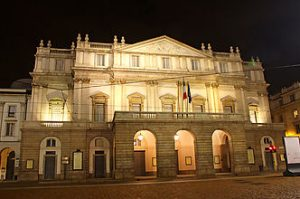 La Scala opera house in Milan