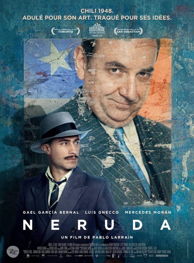 GAGNEZ 5×2 PLACES DE CINEMA POUR LE FILM NERUDA AINSI QU'UN DVD DE NO