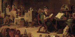 teniers - alchimiste