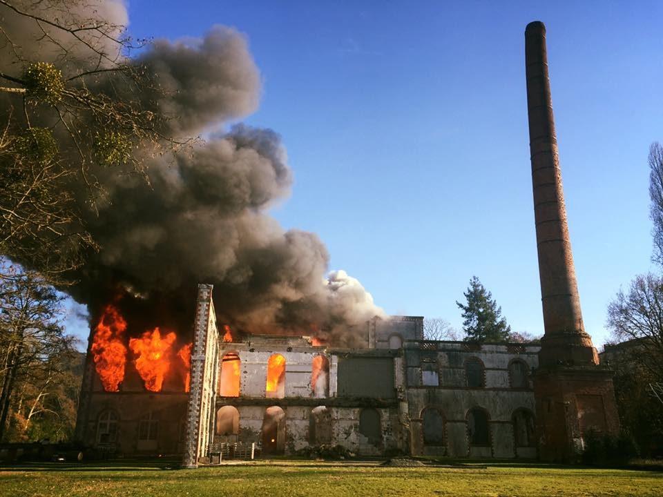 Un incendie détruit les bureaux du Hellfest
