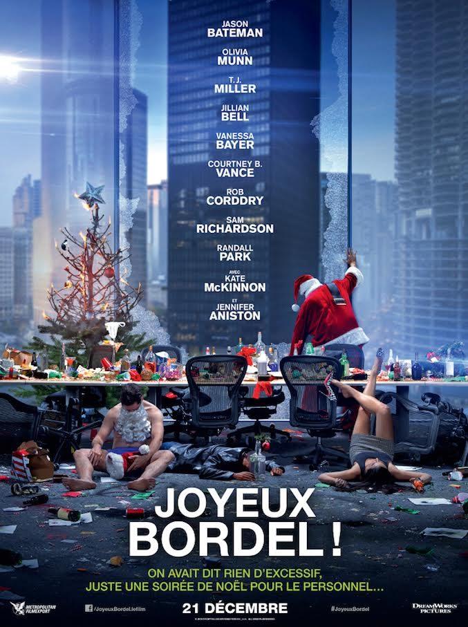 [Crtitique] Joyeux Bordel!, la comédie fofolle de Noël avec Aniston et Bateman