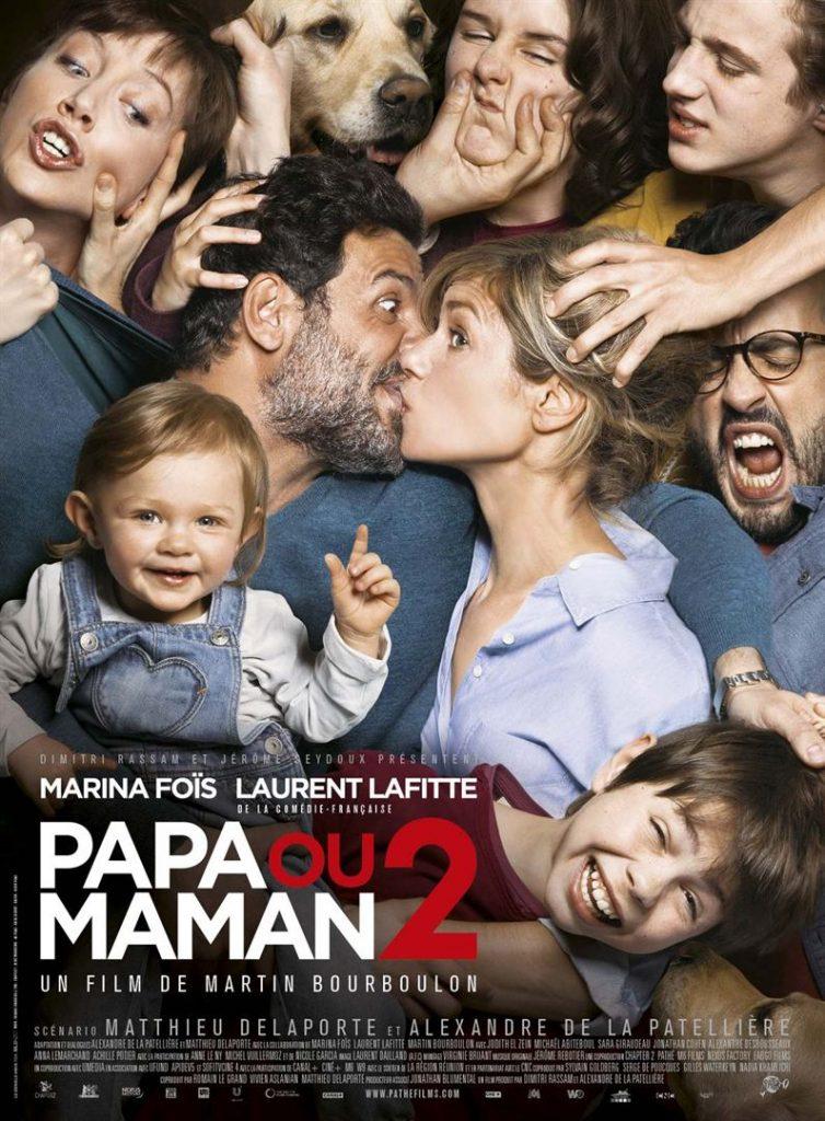 [Critique] du film « Papa ou maman 2 » Impeccable retour du couple infernal Laurent Lafitte / Marina Fois