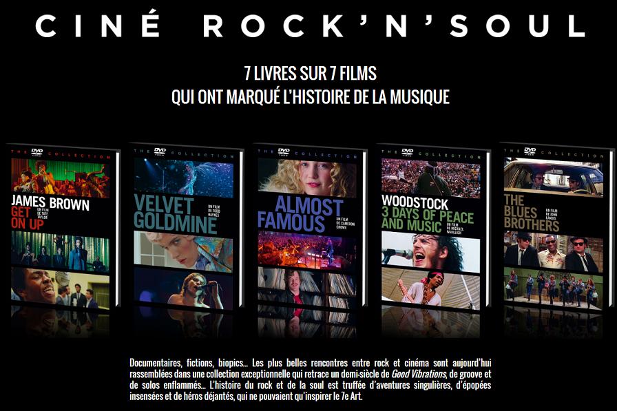 Ciné-Rock'n'Soul : une collection de films dédiée à la musique