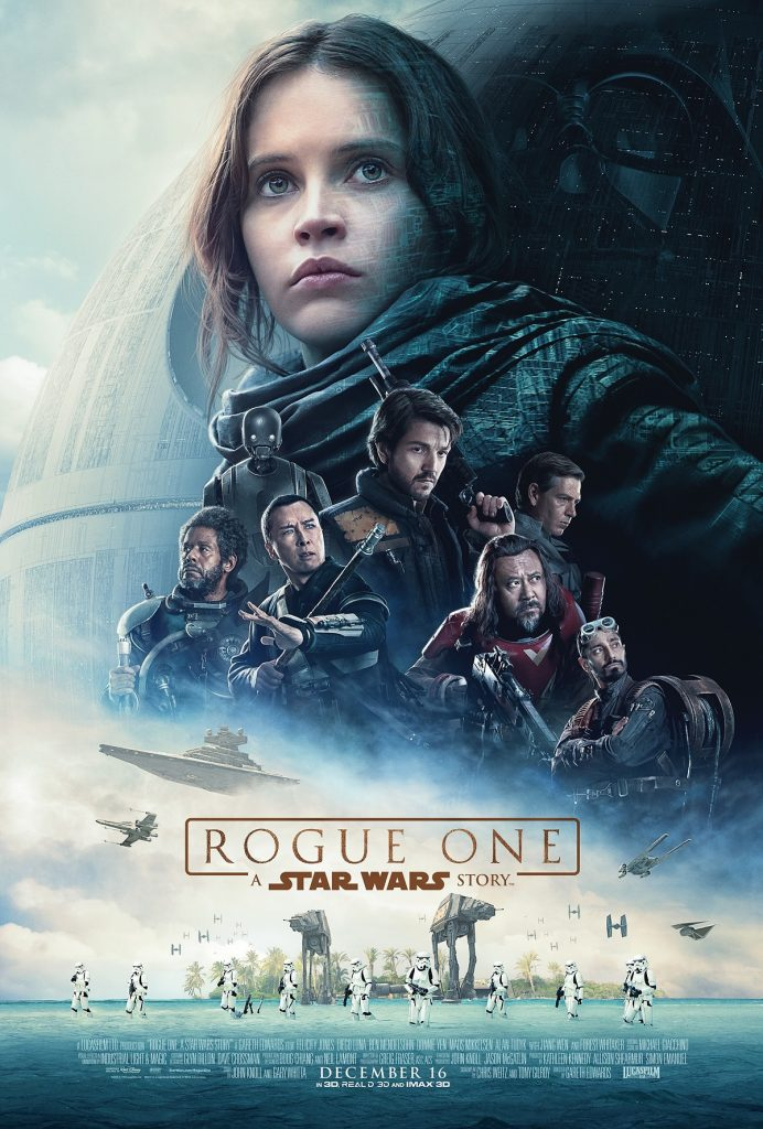 Box-office France semaine : 1.8 million d'entrées pour Star Wars Rogue One