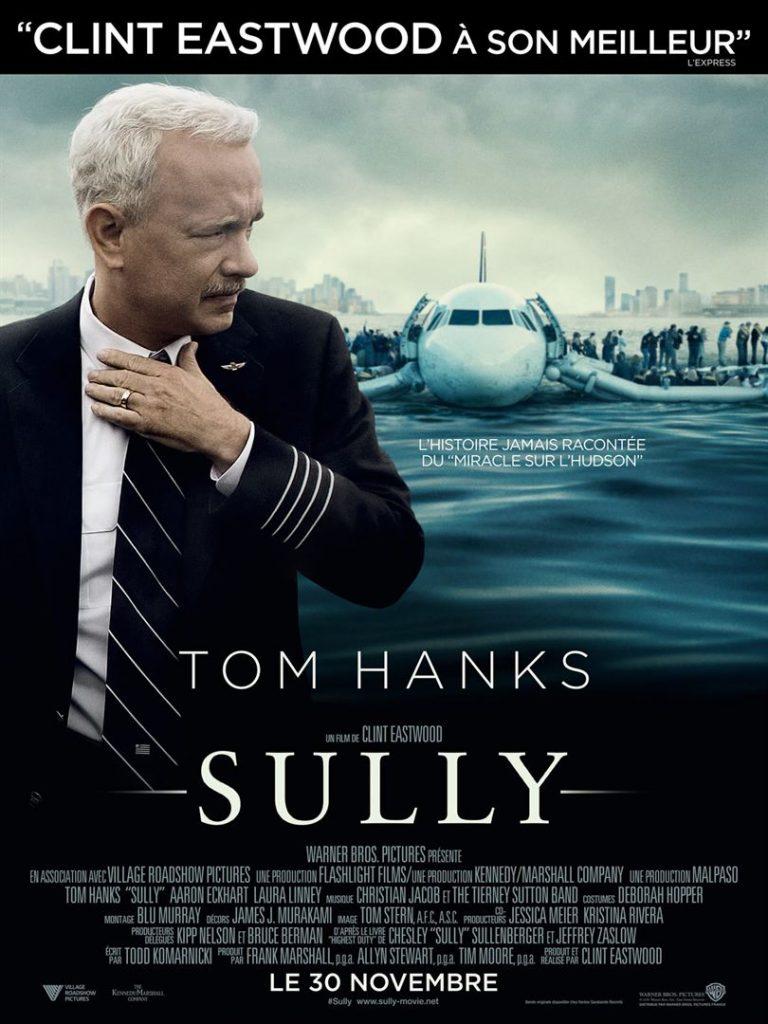 [Critique] du film « Sully » Tom Hanks, héros ordinaire fantasmé de Clint Eastwood