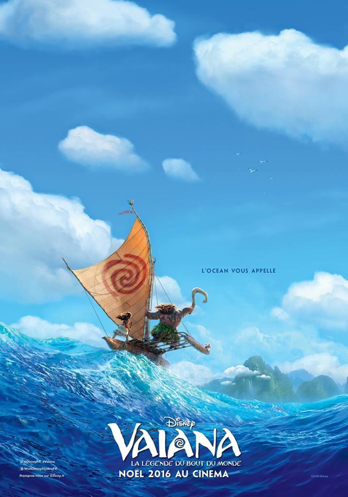 Box-office France semaine : 1 million d'entrées pour Vaiana, le nouveau Disney de Noël