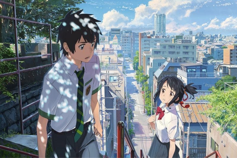 Your Name de Makoto Shinkai un film poétique et étincelant