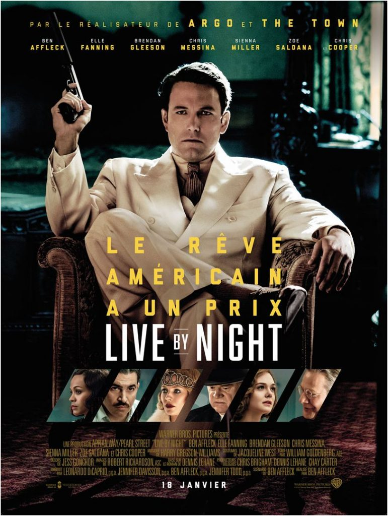 [Critique] Live By Night : Le polar glamour de Ben Affleck qui manque de verve