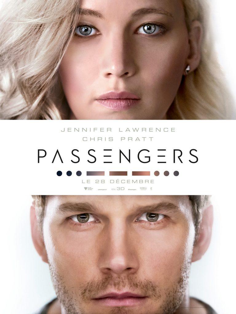 Box-office France semaine : 600.000 entrées pour Passengers (Jennifer Lawrence et Chris Pratt)