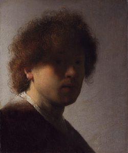 Autoportrait à l'huile, 1628-1629