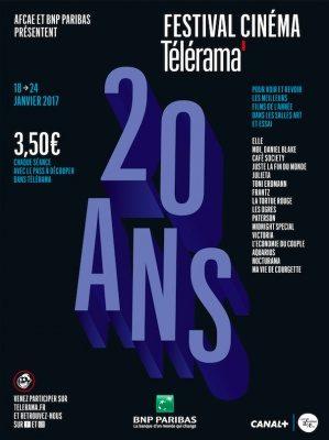 Programme du Festival Télérama 2017 : du 18 au 24 janvier, 3 euros 50 la séance pour découvrir les meilleurs films 2016